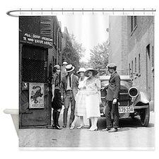 Unique 1920s Shower Curtain