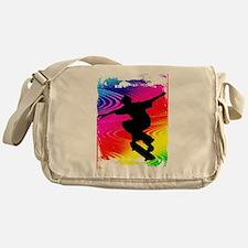 Cute Skateboard Messenger Bag