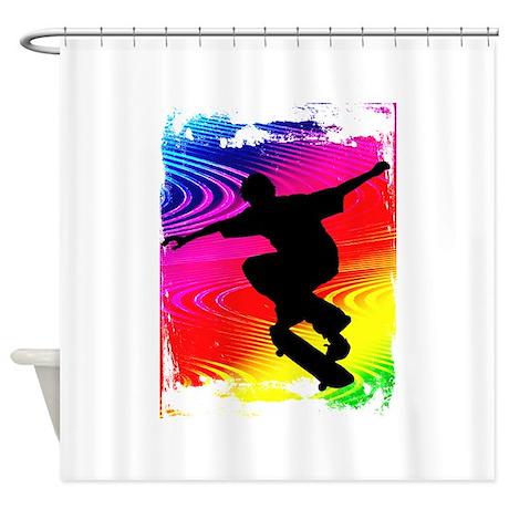 Unique Teen Boys Shower Curtain
