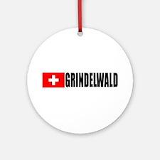 Grindelwald, Switzerland Ornament (Round)