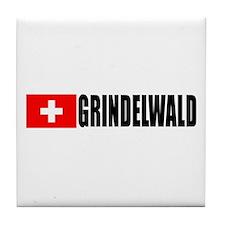 Grindelwald, Switzerland Tile Coaster