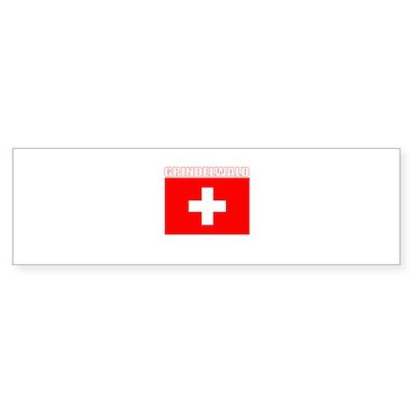 Grindelwald, Switzerland Bumper Sticker