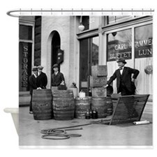 Funny 1920s Shower Curtain
