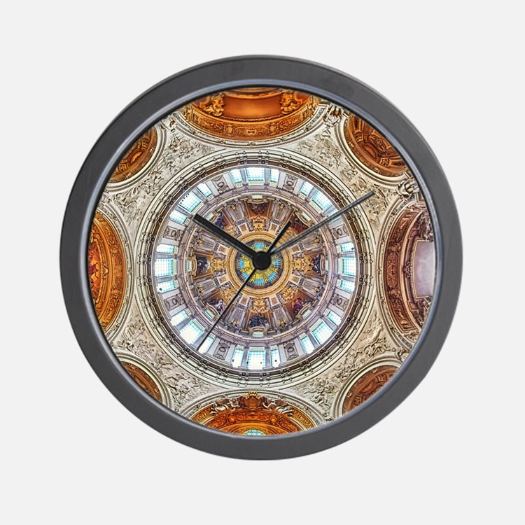 Cathedral Dome Berlin Wall Clock