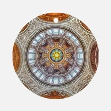 Cathedral Dome Berlin Ornament (Round)