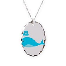 Happy Blue Whale Necklace