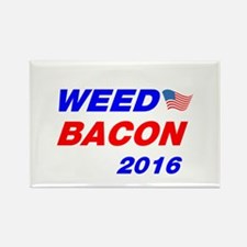 Weed Bacon 2016 Rectangle Magnet