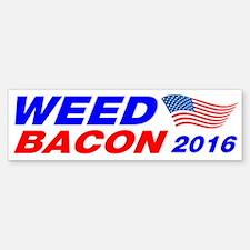 Weed Bacon 2016 Bumper Bumper Sticker