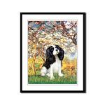 Spring & Tri Cavalier Framed Panel Print
