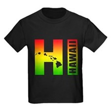 HI - Hawaii Rasta Surfer Colors T