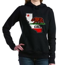 California Bear Flag Women's Hooded Sweatshirt