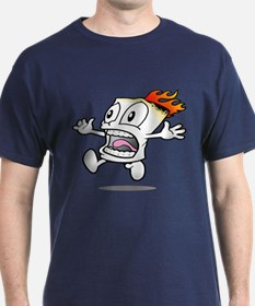Funny Flaming Marshmallow T-Shirt