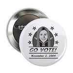 Vote 2004 B&W Button