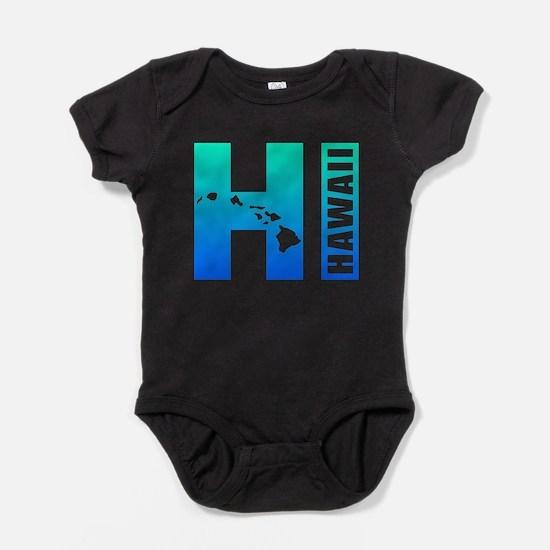 HI - Hawaii Islands Baby Bodysuit