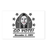 Vote 2004 B&W Postcards (Package of 8)