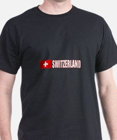 Switzerland Flag (Dark) T-Shirt