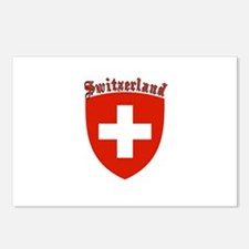 Switzerland Coat of Arms Postcards (Package of 8)