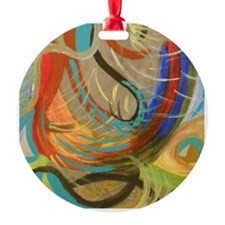 Abstract I by Julie Crisan Ornament