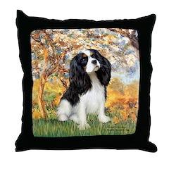 Spring & Tri Cavalier Throw Pillow