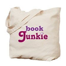 Funny Reading Book Junkie Tote Bag