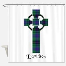 Cross - Davidson Shower Curtain
