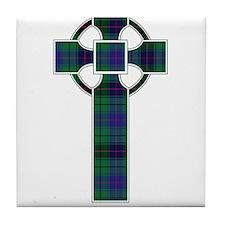 Cross - Davidson Tile Coaster