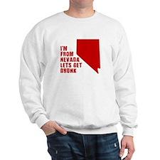 NEVADA T-SHIRT HUMOR DRINKIN Sweatshirt