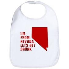 NEVADA T-SHIRT HUMOR DRINKIN Bib