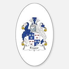 Fraser (of Lovat) Oval Decal