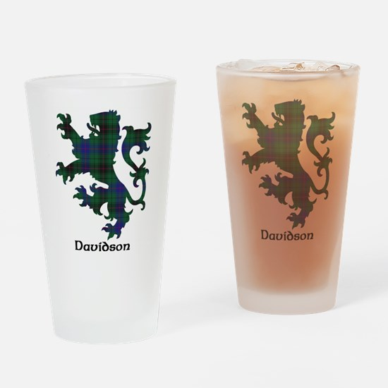 Lion - Davidson Drinking Glass
