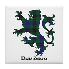 Lion - Davidson Tile Coaster