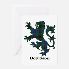 Lion - Davidson Greeting Card
