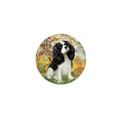 Spring & Tri Cavalier Mini Button (10 pack)