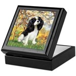 Spring & Tri Cavalier Keepsake Box
