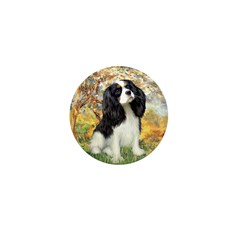 Spring & Tri Cavalier Mini Button