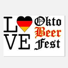 Cute German beer Postcards (Package of 8)