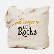 Shakespeare Rocks Tote Bag