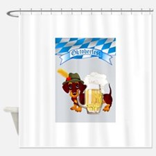 Funny German beer Shower Curtain