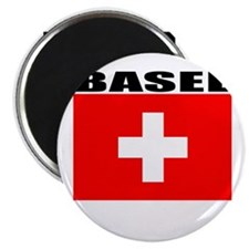 "Basel, Switzerland 2.25"" Magnet (10 pack)"