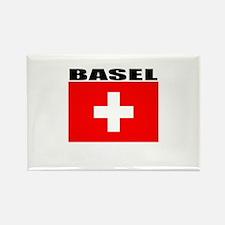 Basel, Switzerland Rectangle Magnet