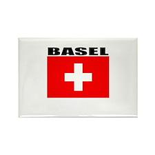 Basel, Switzerland Rectangle Magnet (100 pack)