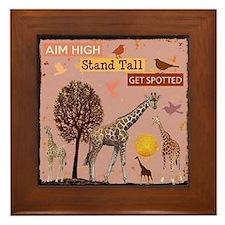 Stand Tall Framed Tile
