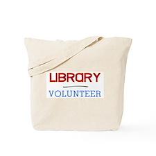 Library Volunteer Tote Bag