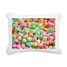 Funny Miniature Rectangular Canvas Pillow