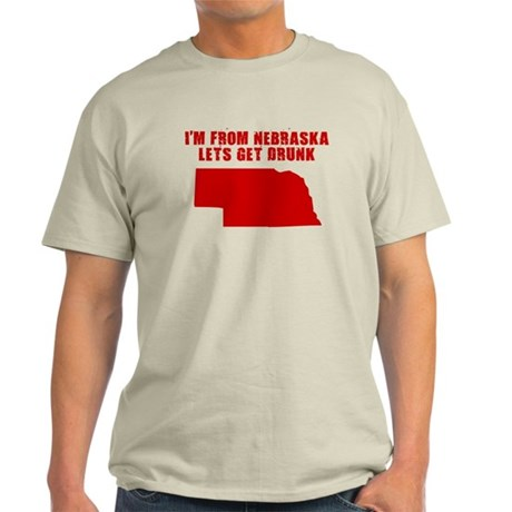 NEBRASKA SHIRT T-SHIRT I LOVE Light T-Shirt