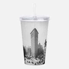 Unique New photos Acrylic Double-wall Tumbler
