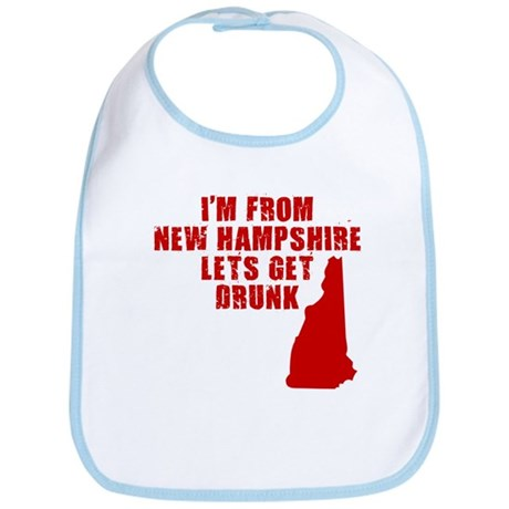 NEW HAMPSHIRE SHIRT T-SHIRT D Bib
