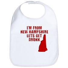 NEW HAMPSHIRE SHIRT T-SHIRT D Bib