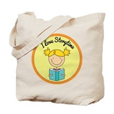 I Love Storytime Tote Bag
