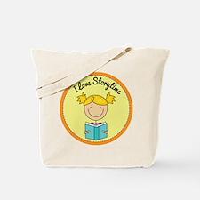 I Love Storytime Tote Bag
